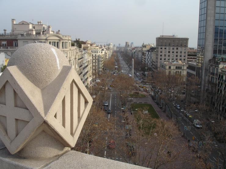 Vistas terraza casa fuster barcelona connoisseur - Hotel casa fuster terraza ...